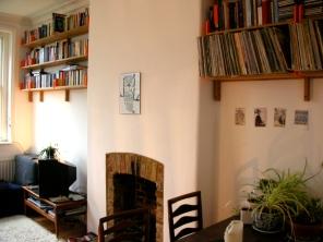 Bespoke adjustable shelves, Stoke Newington
