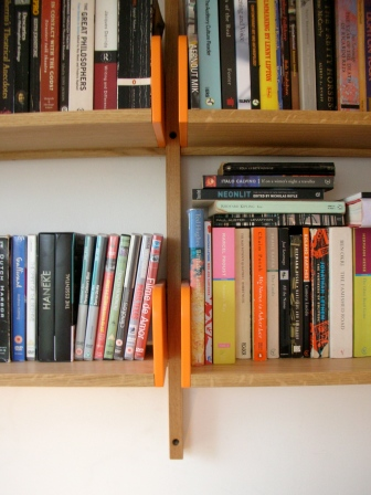 Handmade adjustable shelves, Hackney