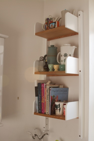 'Peggy' kitchen shelving, Chelsea London