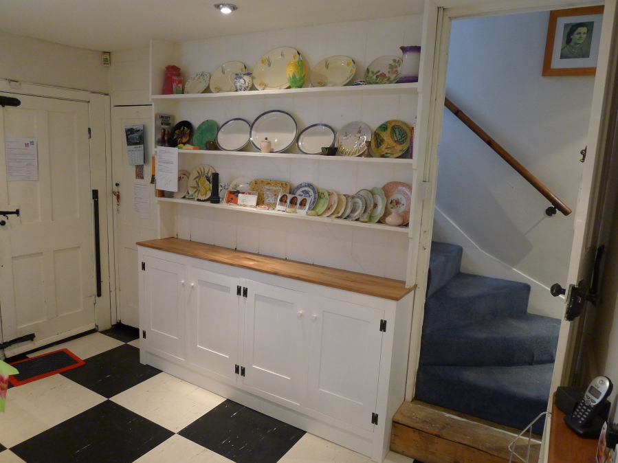 Bespoke Georgian style dresser, Hackney