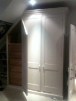 Completed wardrobe