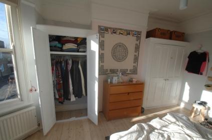 New wardrobe interior