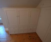 Bespoke shaker style storage unit, Walthamstow