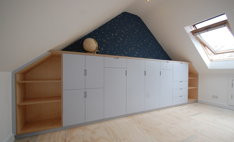 Bespoke attic storage