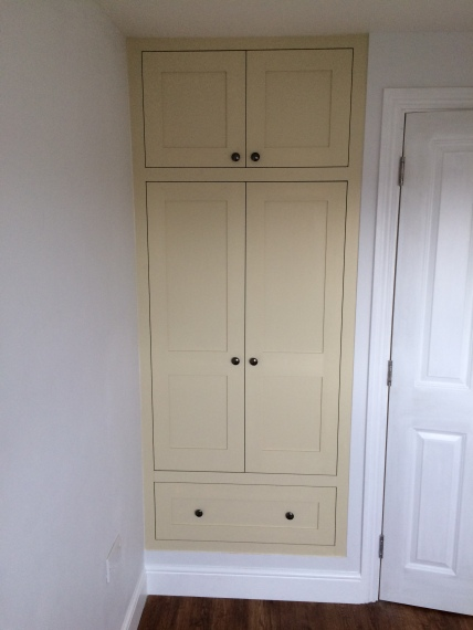 Walthamstow shaker wardrobe